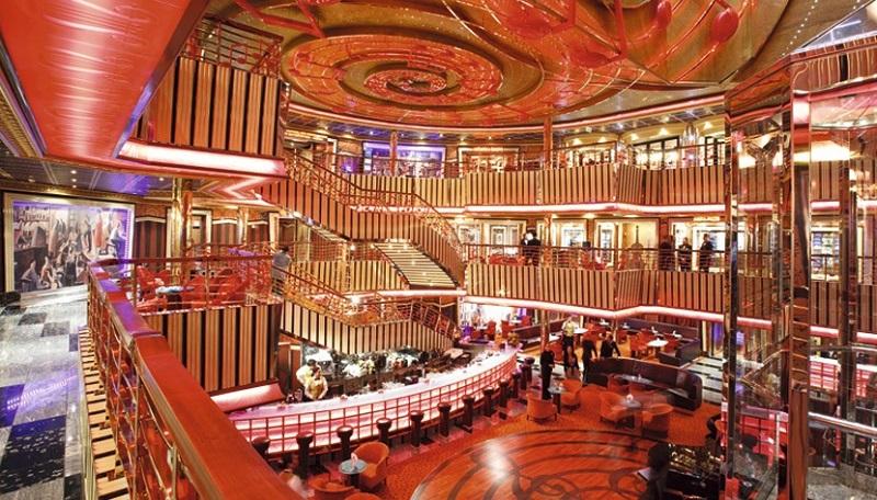 Bar do cruzeiro Costa Pacifica