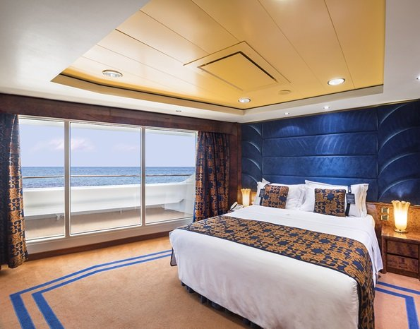 Quarto do MSC Splendida