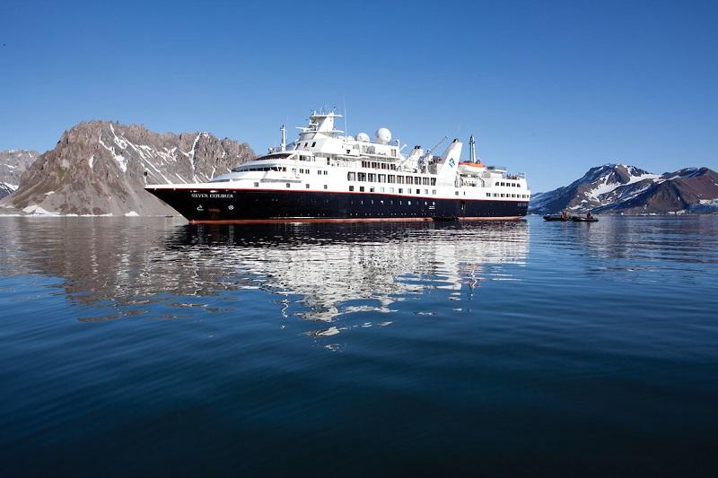 Navio Silver Explorer, da Silversea